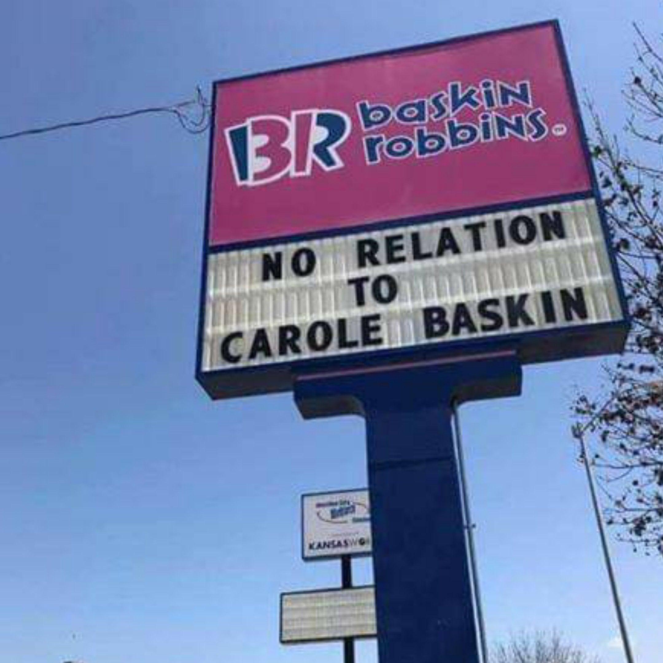 Carole Baskin Meme - Baskin Robbins