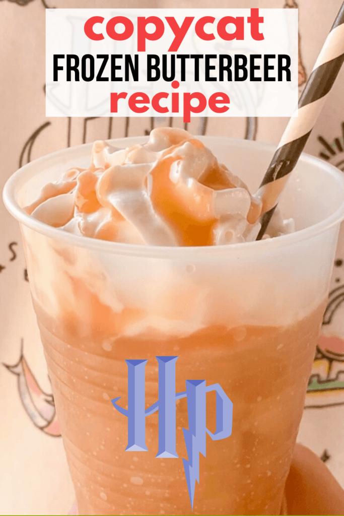 Copycat Frozen Butterbeer Recipe