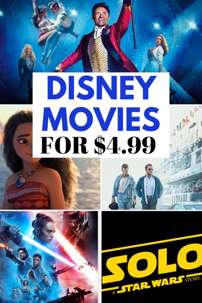 Disney Movie Flash Sale