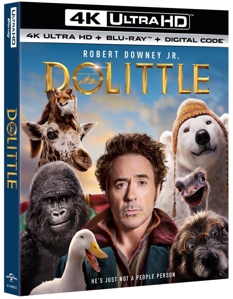 Dolittle Movie on Blu-ray