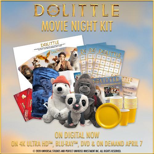 Dolittle Movie Kit Giveaway Prize