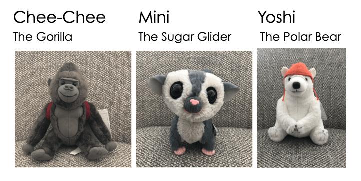 Dolittle Movie Stuffed Animals