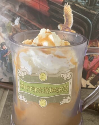 Homemade Frozen Butterbeer