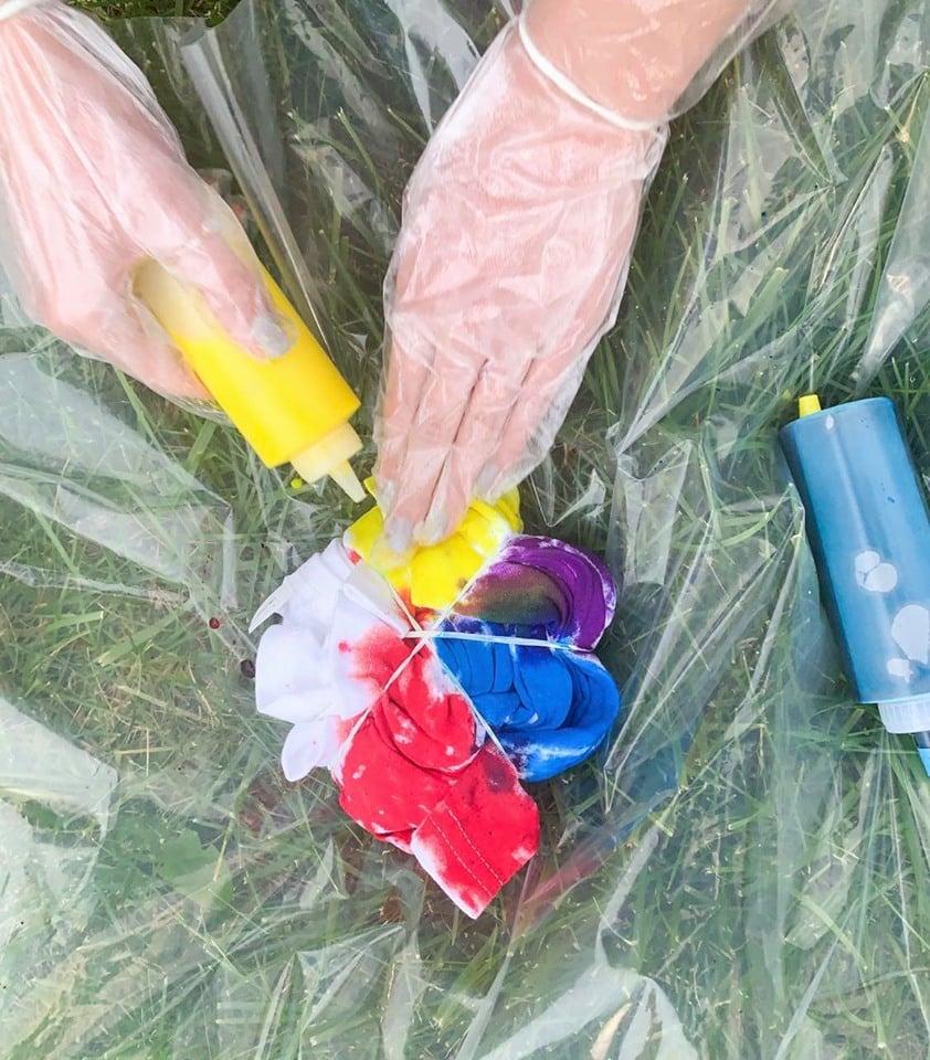Infinity Stones DIY Tie Dye