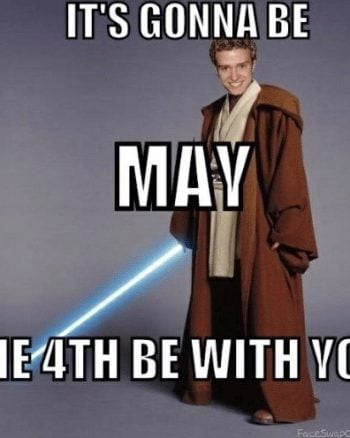 It's Gonna Be May the 4th Mashup Meme