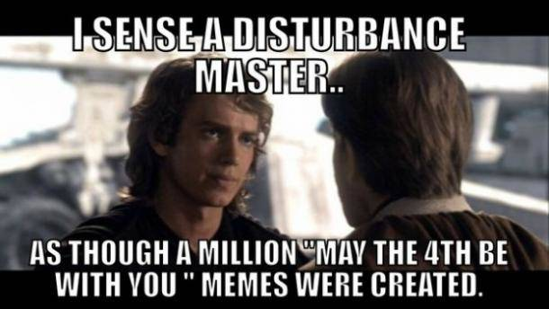 May the Fourth Star Wars Meme