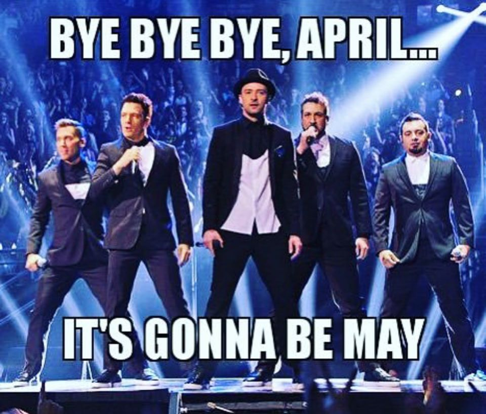 NSYNC Gonna Be May Meme