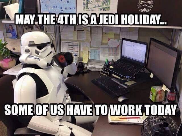 Star Wars Day Meme