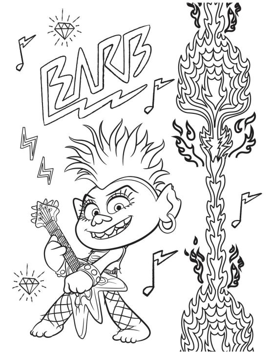 - Free Trolls World Tour Coloring Pages And Printable Activities