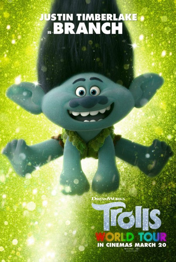 Quotes from Branch in Trolls World Tour