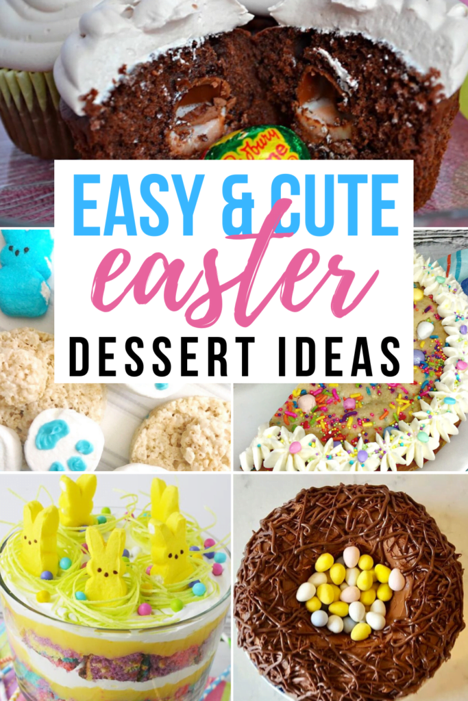 easy and cute easter dessert ideas