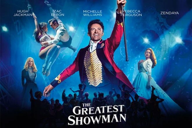 The Greatest Showman on sale for $4.99.