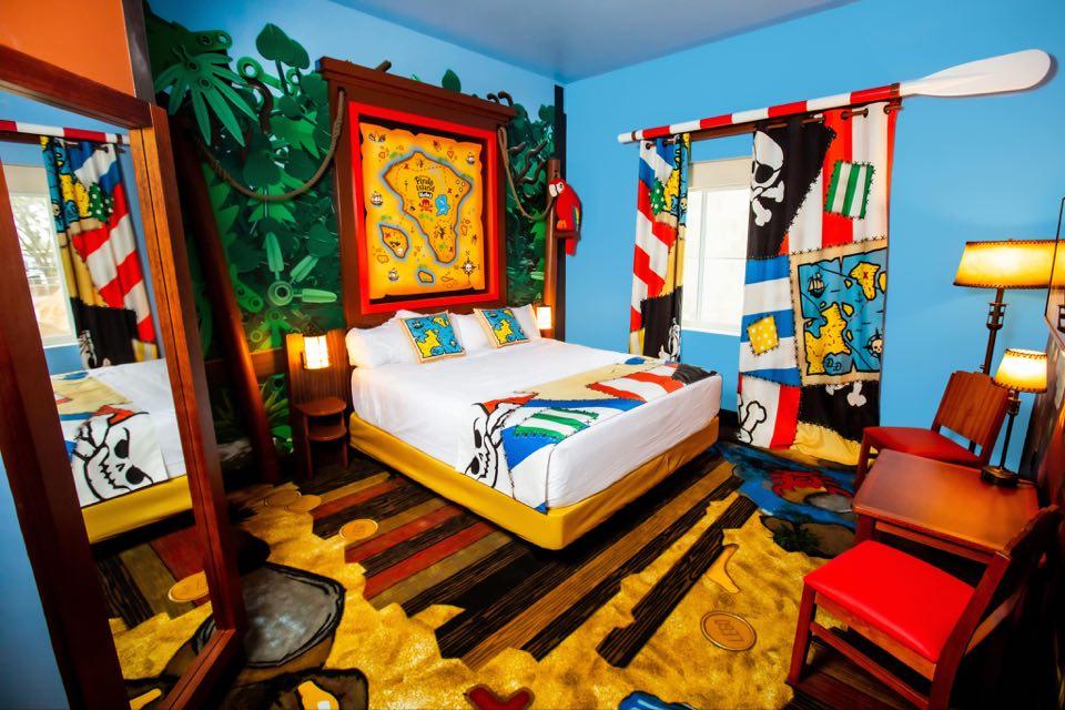LEGOLAND Pirate Hotel opens in June
