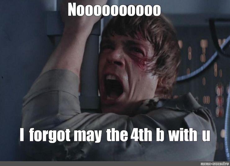 May the 4th meme luke skywalker