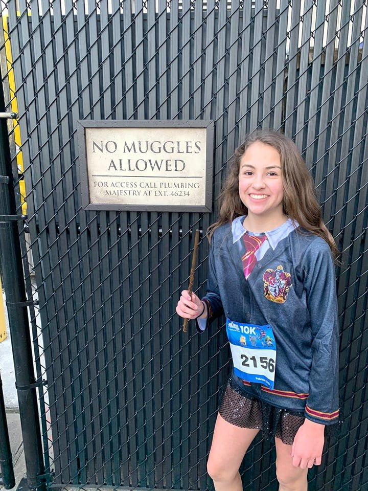 Backstage Diagon Alley Running Universal