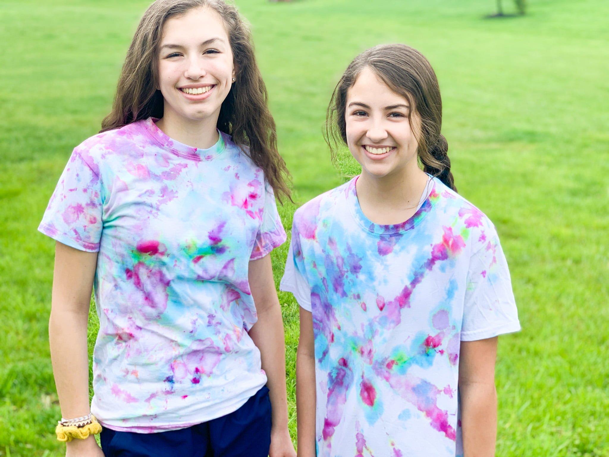 Ice Tie Dye Shirts