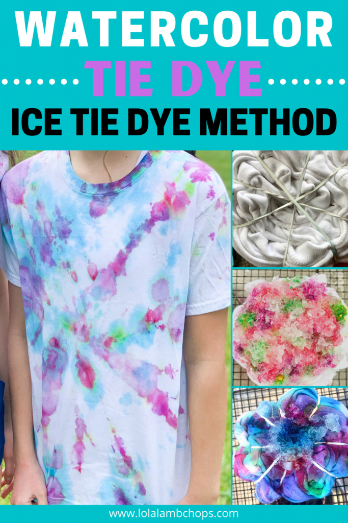 Tie Dying With Ice