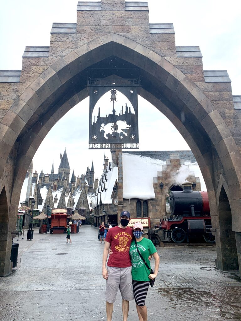 Low Crowds at Universal Orlando in Hogsmeade