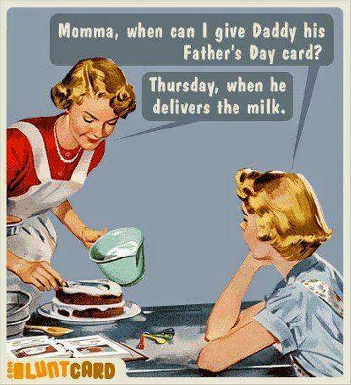 Father's Day Milkman Joke