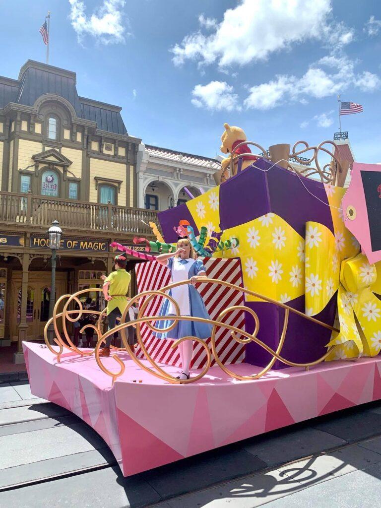 Character Cavalcades at Disney Reopening
