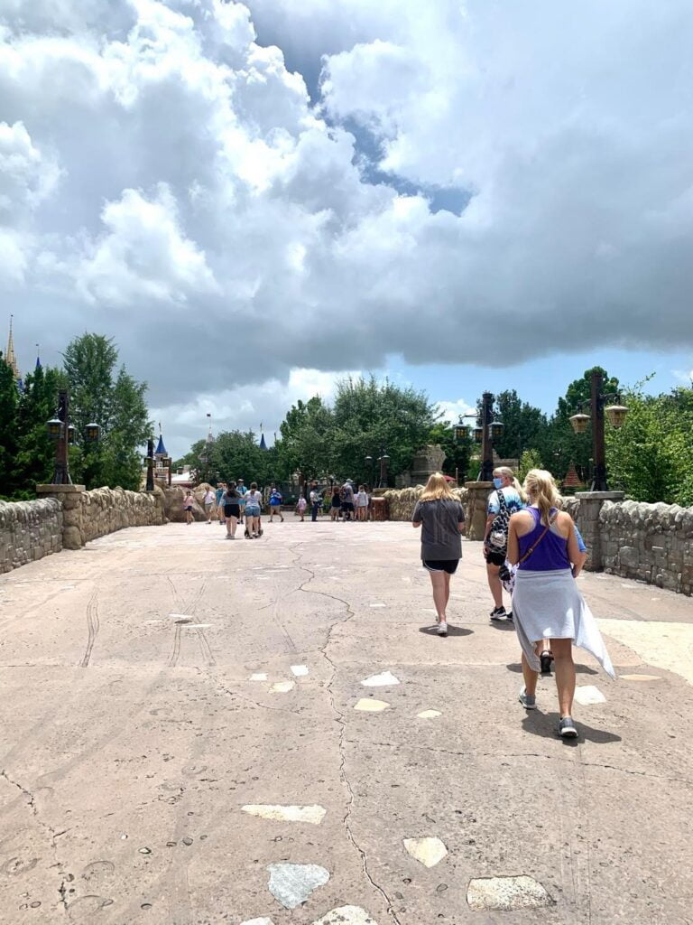Empty Crowds at Disney World Reopening