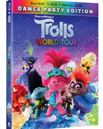 Trolls World Tour DVD