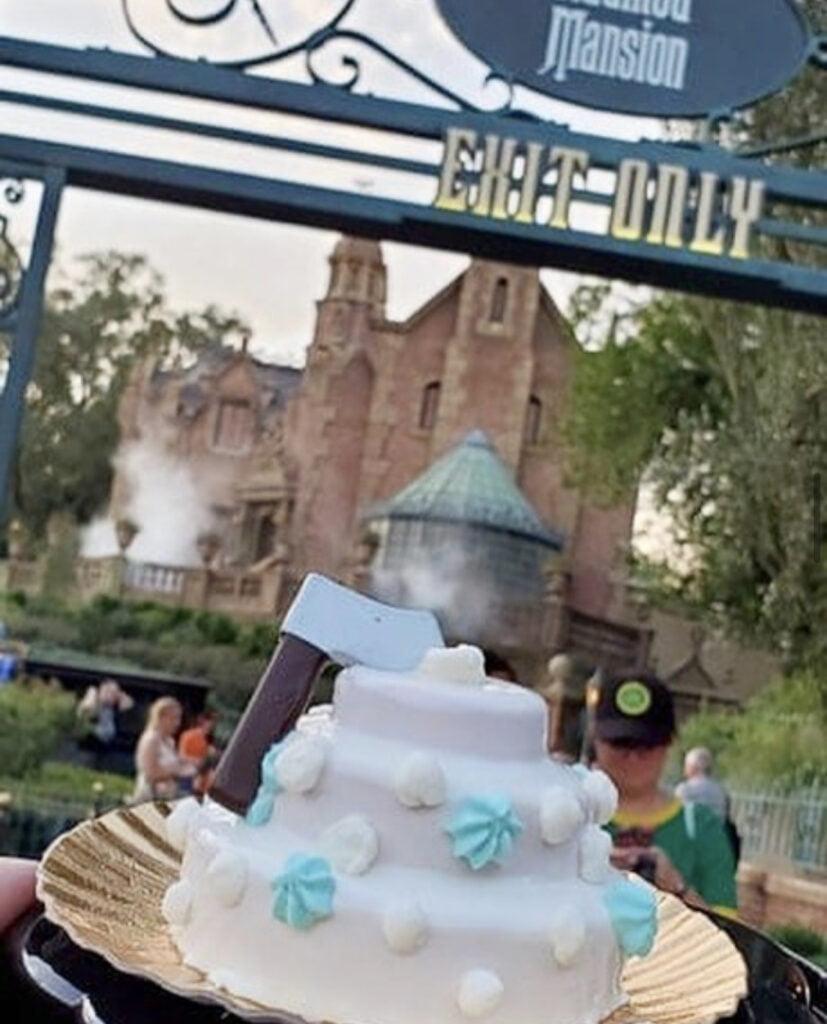 Constance's Wedding Cake Fall Disney Treat