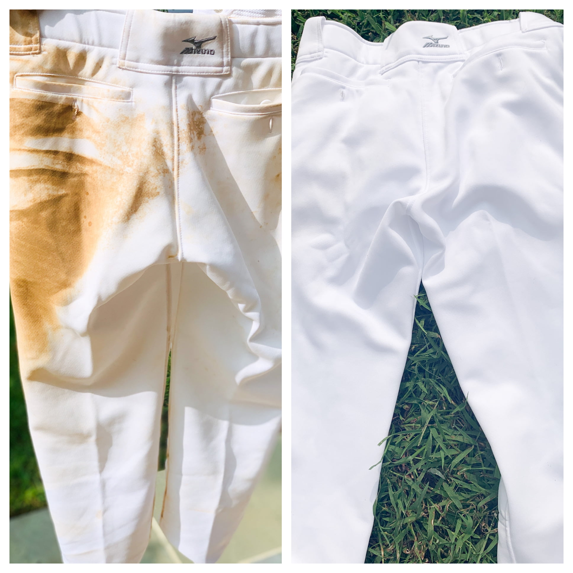 Best way to clean softball pants