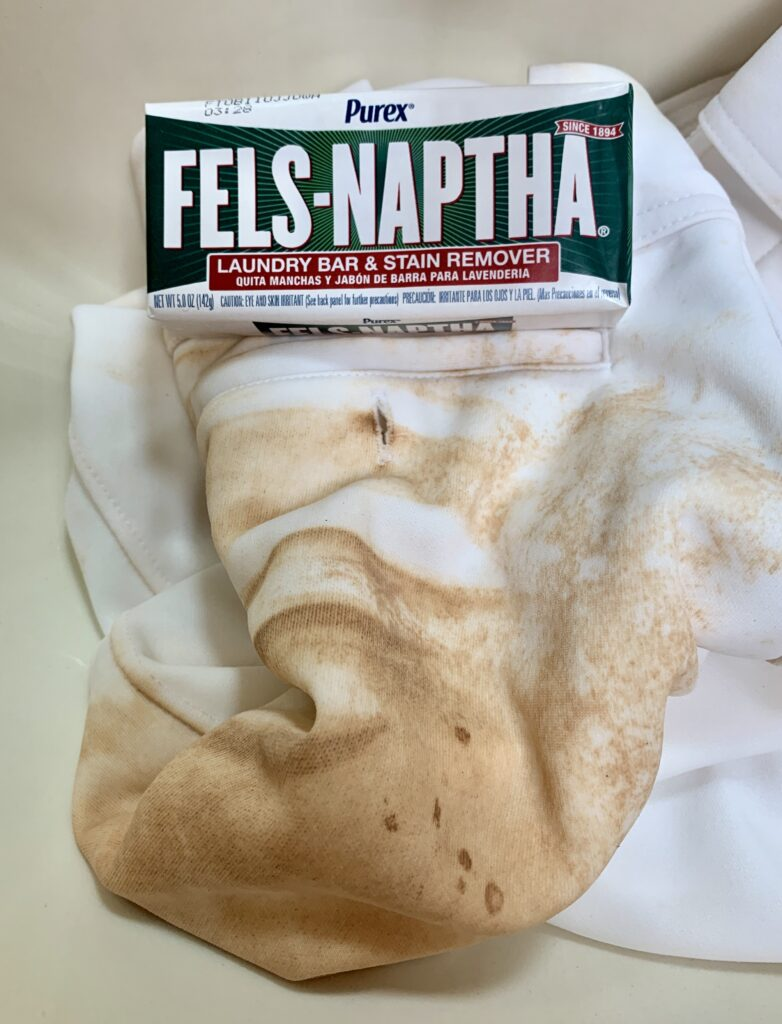 Fels Naptha Soap to clean Baseball Pants