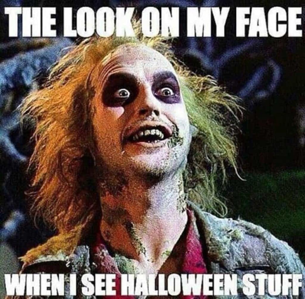 Beetlejuice Halloween Meme