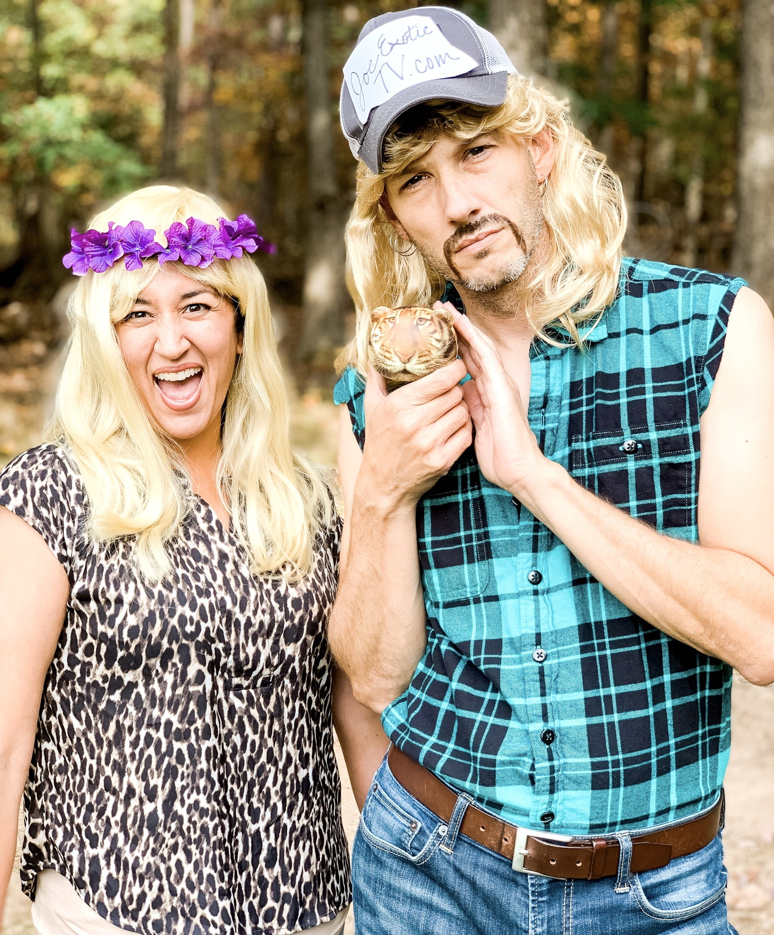 Tiger King Couples Costume