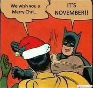 Batman Thanksgiving Meme