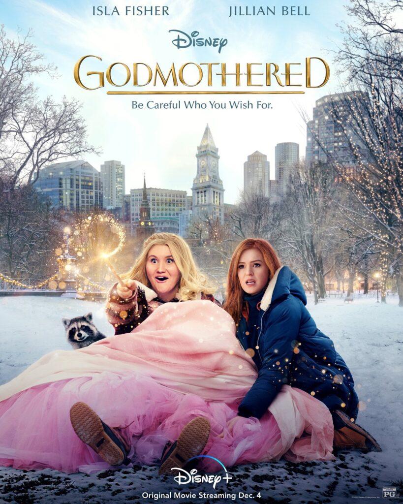 Godmothered Poster Disney Plus