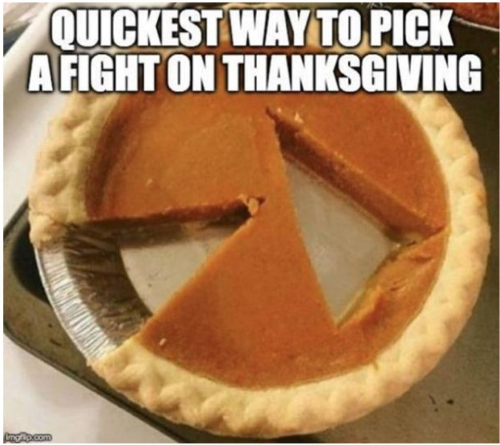 Pumpkin Pie Thanksgiving Meme