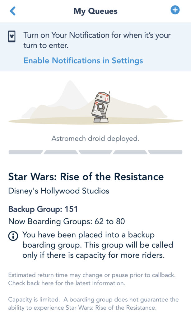 Rise of the Resistance Backup Group