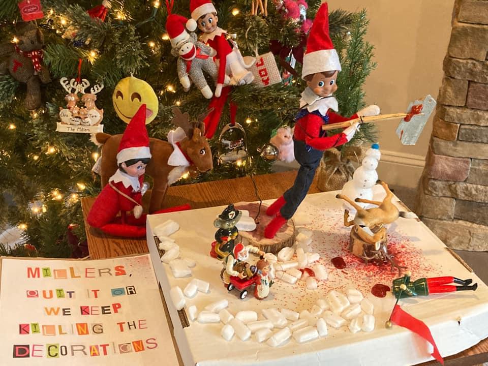 Elf on the Shelf Massacre