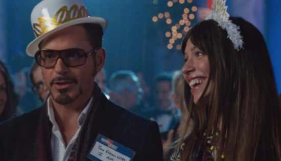 Tony Stark New Years Eve