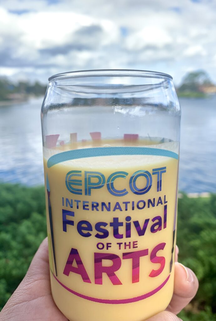 Coconut and Passion Fruit Smoothie Epcot