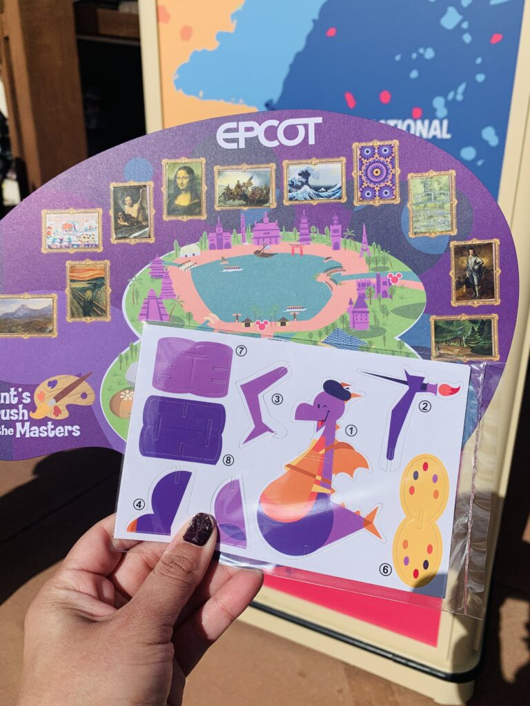 Completed 2021 Figment Scavenger Hunt Map