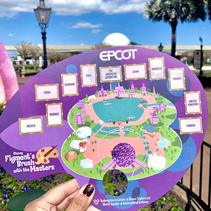 2021 Figment Brush with the Masters Map