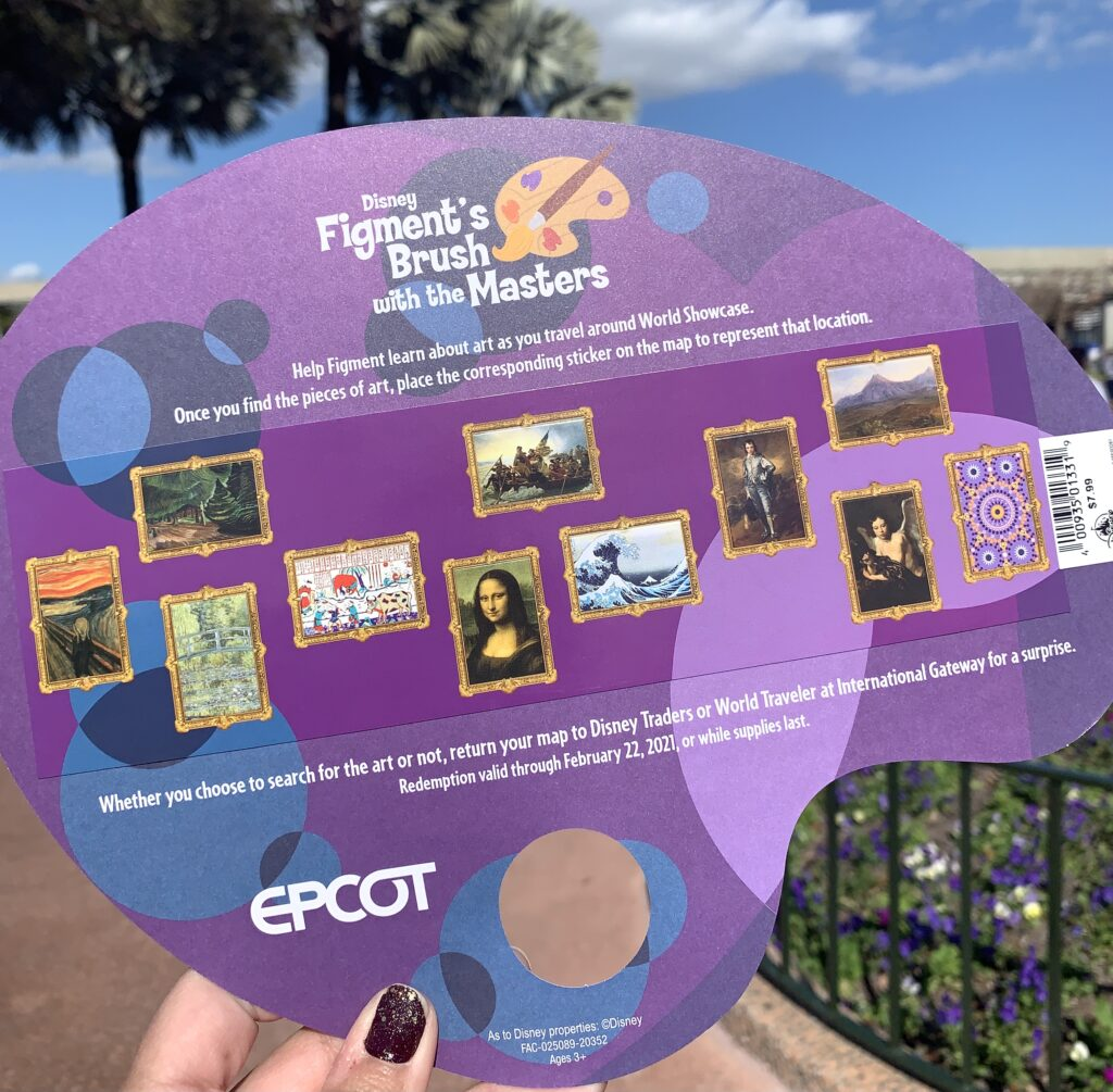 Figment Map Stickers 2021 Festival of the Arts