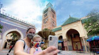 Scenic Selfies Epcot DVC Member
