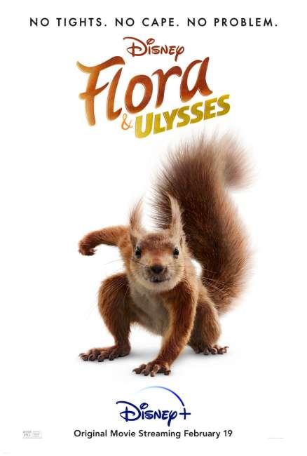 Flora and Ulysses Disney Plus