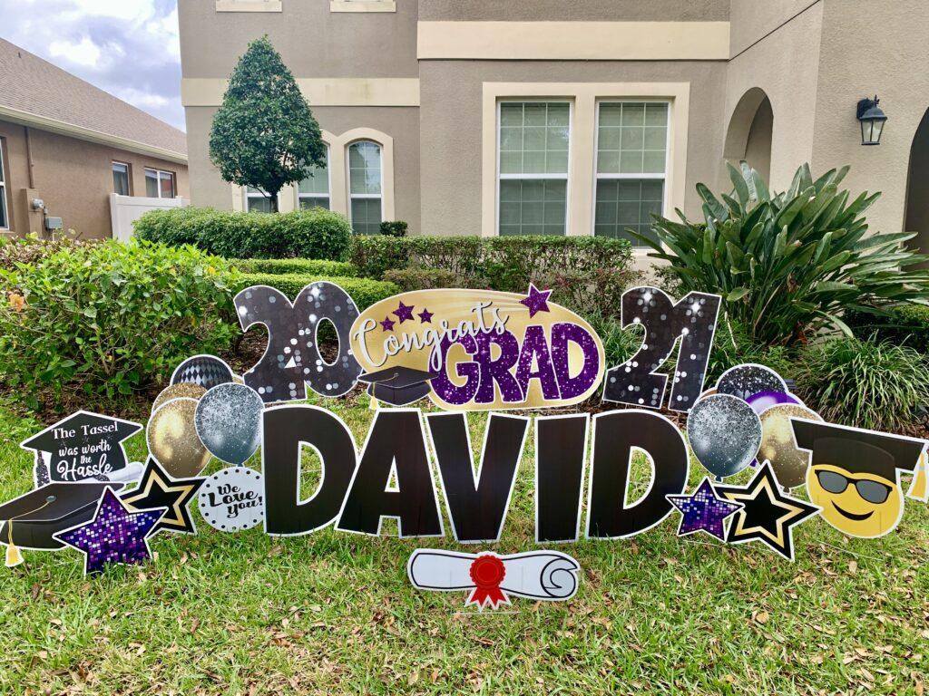 Graduation Yard Signs Winter Garden Florida