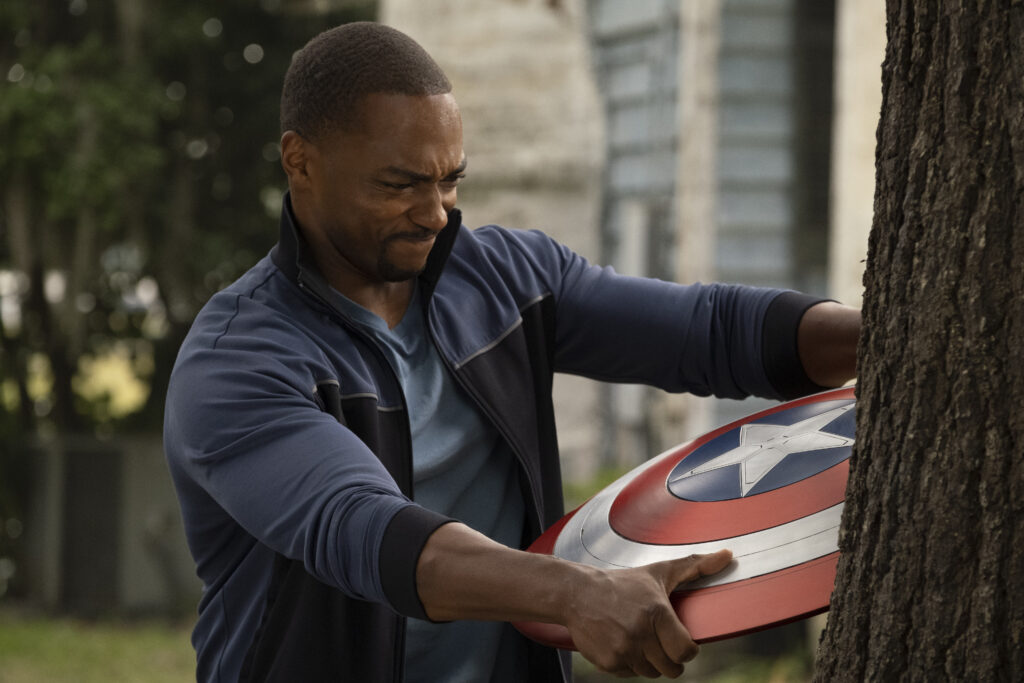 Falcon and Captain America's Shield