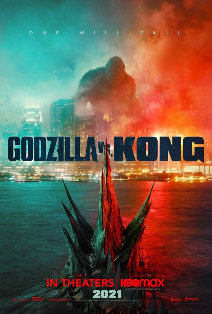 Godzilla v Kong movie poster