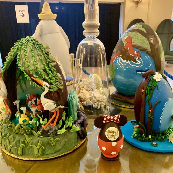 Disney Beach Club Resort Easter Eggs