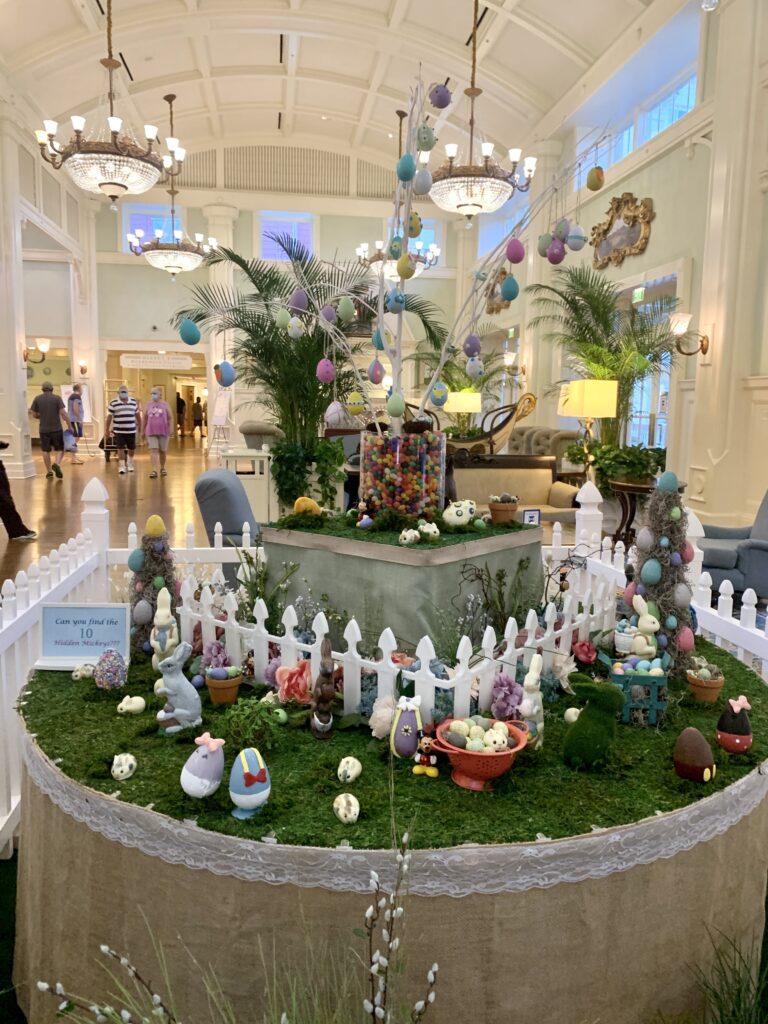 Disney's Boardwalk Resort Easter Eggs