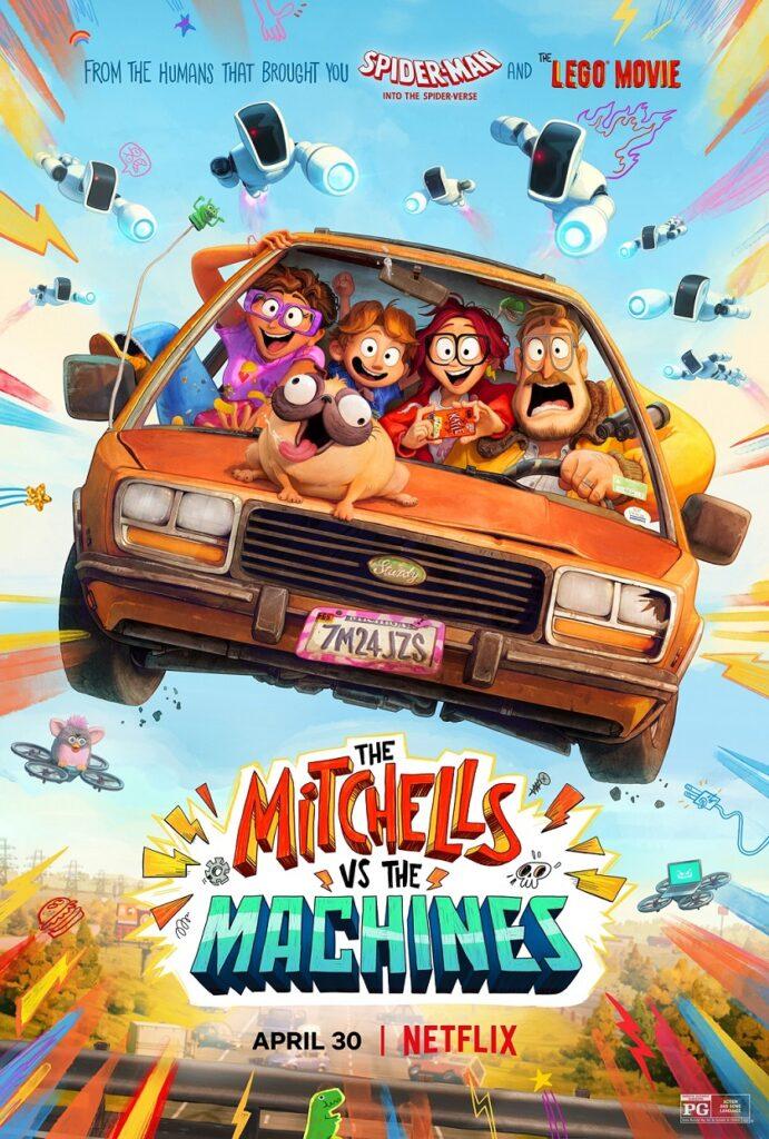 Mitchells vs The Machines Movie Poster