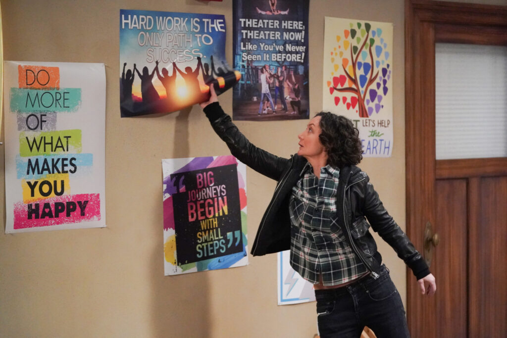 The Conners SARA GILBERT interview